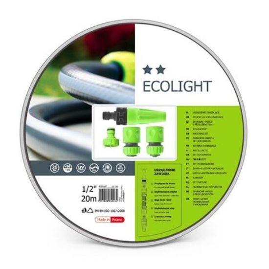 """Cellfast Ecolight Set 3 rétegű locsolótömlő szett 1/2"""" 20m"""