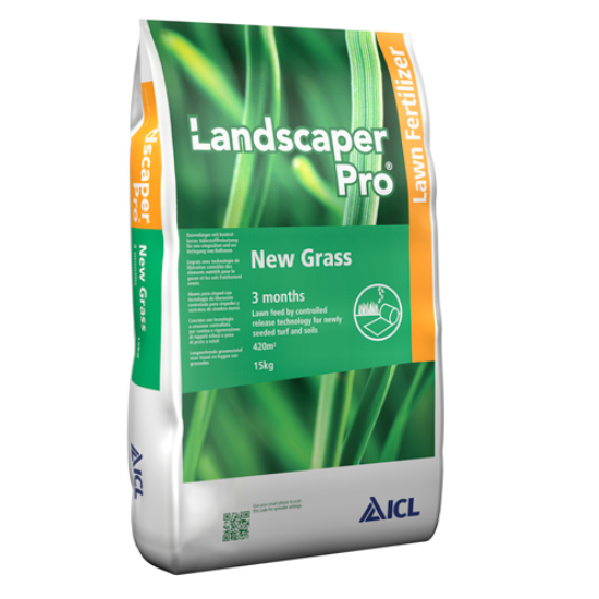 Landscaper Pro New Grass ICL (Everris, Scots) gyeptelepítő gyeptrágya 20-20-08 15Kg