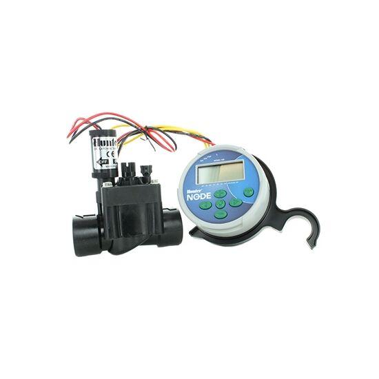 Hunter NOD-100 egy zónás elemes vezérlő, mágnesszeleppel