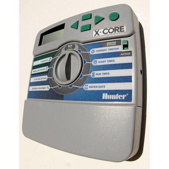 Hunter X-CORE 601 IE 6 zónás beltéri vezérlőautomata