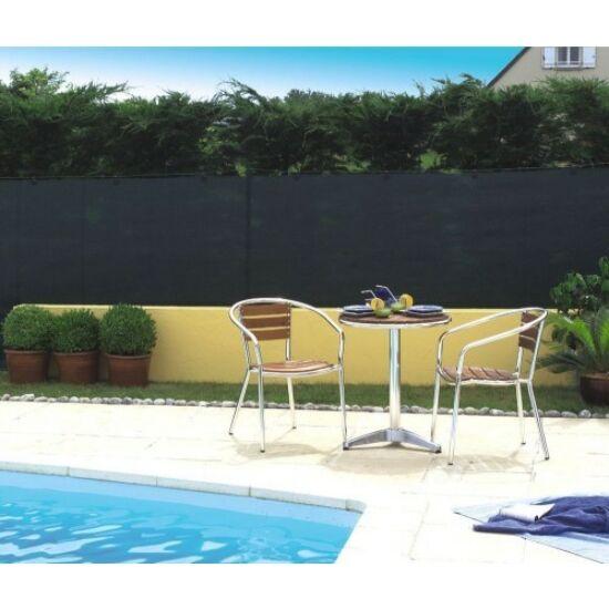 Extranet belátásgátló, árnyékoló háló 1,5x10m 80% antracit 90gr/m2