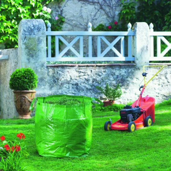 GREENBAG kerti hulladékzsák PE szőtt, többször használható 180L zöld