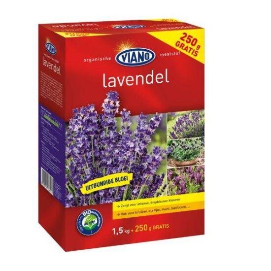 Viano szerves kertészeti táp levendulának Bio minősítéssel1,75Kg