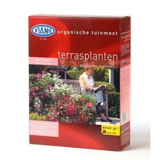 Viano szerves kertészeti táp Balkonnövényeknek 4Kg