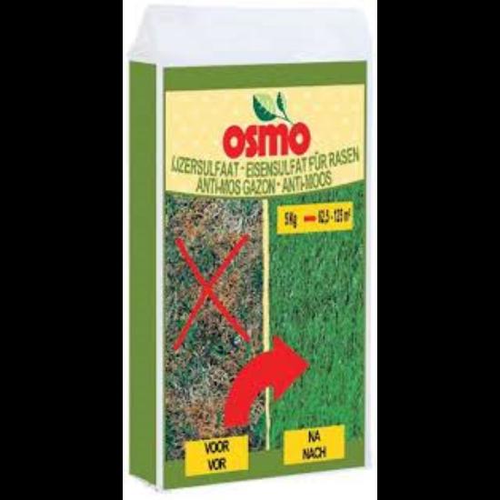OSMO ásványi táp mohaírtóval, legyengült gyeptelepekhez 18%Fe 5Kg