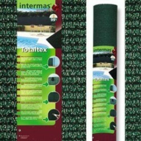 Totaltex árnyékoló háló 1,5x10m zöld 95% belátáskorlátozás  UV stabil