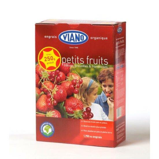 Viano szerves kertészeti táp eper és pirosbogyós gyümölcsök részére 1,75Kg