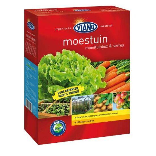 Viano szerves kertészeti táp zöldségeknek, gyümölcsöknek, házikertekbe is. BIO minősítéssel! 1,75Kg