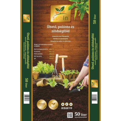Sunin prémium ültető, palánta és zöldségföld  50l