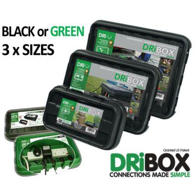 Dribox vízmentes csatlakozó doboz 285mm zöld