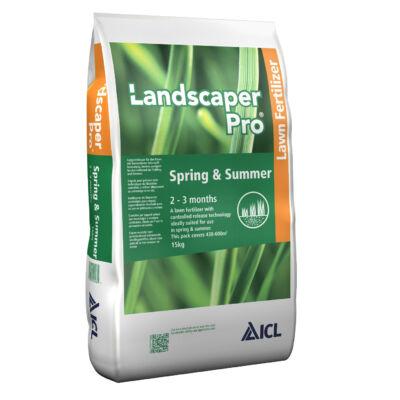 Landscaper Pro Spring & Summer ICL (Everris, Scotts)Tavaszi - nyári gyeptrágya  20-0-7-+6CaO+3MgO 15Kg