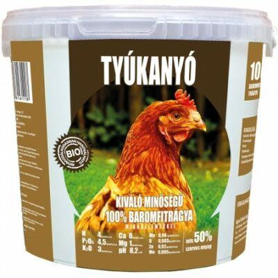 Tyúkanyó Baromfitrágya-pellet 4-kg