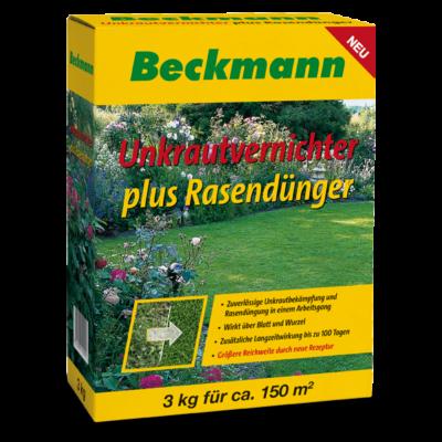 Beckmann gyomirtós gyeptrágya 22+5+5 0.8% 2.4D + 0.12% dikamba 3kg