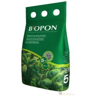 Biopon tűlevelűek barnulás elleni növénytáp 5kg