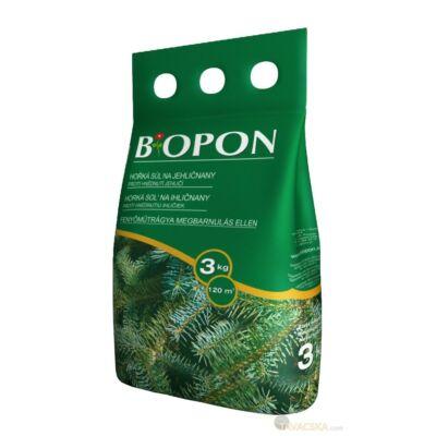 Biopon tűlevelűek barnulás elleni növénytáp 3kg