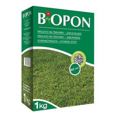 Biopon gyepműtrágya gyom-stop 1Kg