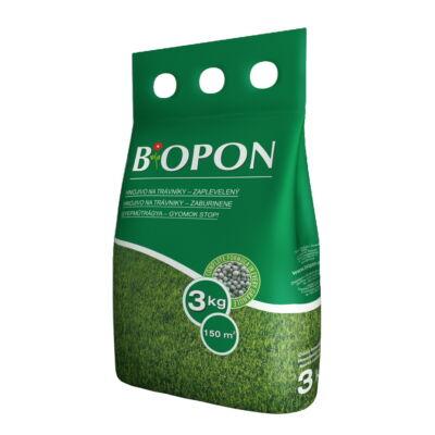 Biopon gyepműtrágya gyom-stop 3Kg