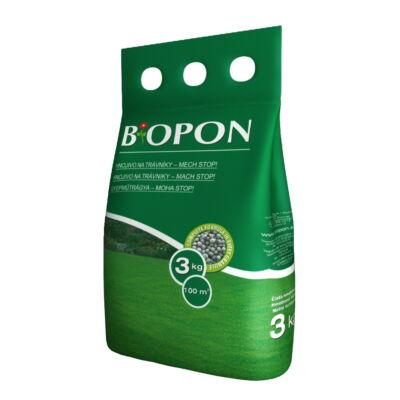 Biopon gyepműtrágya mohás gyepekre 3Kg