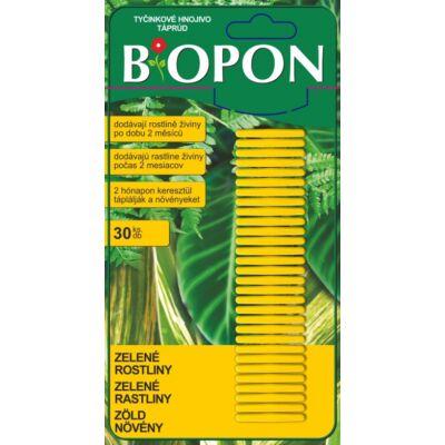 Biopon Zöldnövény táprud 30db-os