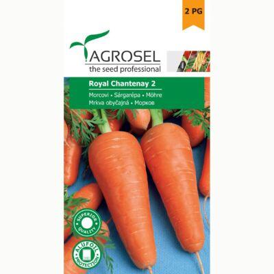 Agrosel Royal Chantenay  sárgarépa 6g
