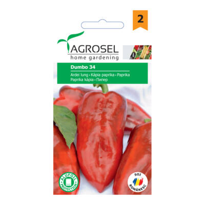 Agrosel Dumbo 34 kápia  paprika 1,5g