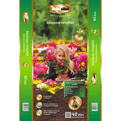 Dolce Vital Top prémium általános virágföld tápanyagokkal 40l