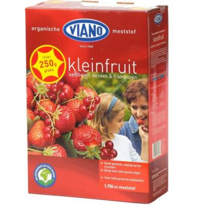 Viano szerves BIO minősítésű növénytáp epernek és bogyós gyümölcsök részére 1,75Kg
