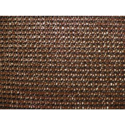 Extranet belátásgátló, árnyékoló háló 1x10m 80% barna 90gr/m2
