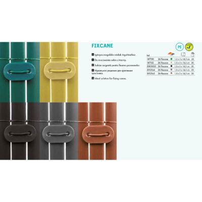 Nortene Fixcane belátásgátló rögzítőszett szürke 26db/csomag