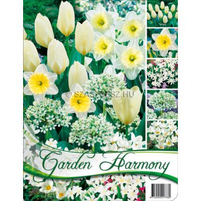 Garden harmony vegyes virághagyma kollekció fehér 50db-os
