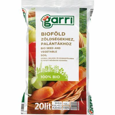 Garri Bioföld Palánta És Zöldség Föld 20L