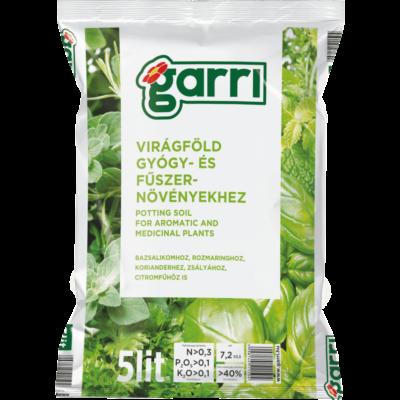 Garri Virágföld Gyógy- És Fűszernövények részére 5L
