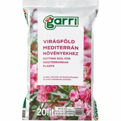 Garri Virágföld Mediterrán növények 20L