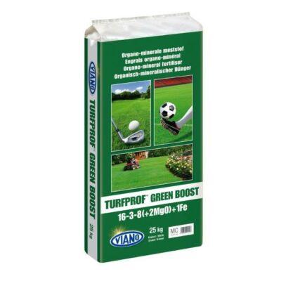 Viano Turfprof Green Boost 16-3-8 +2Mg +1Fe +4Ca Profi gyeptrágya 25Kg