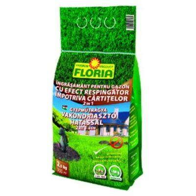 Floria Gyep-Őr 2 az 1-ben Vakondriasztós Gyepműtrágya 2,5kg