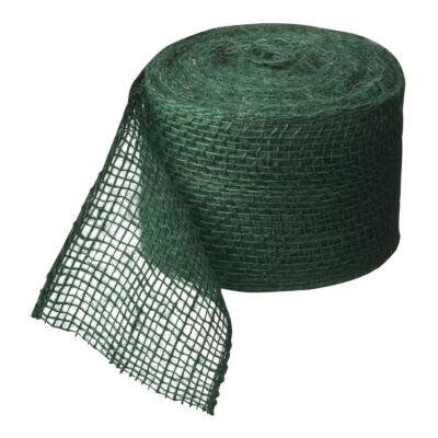 Juta szalag fatörzs védelemre zöld 10cmx25m