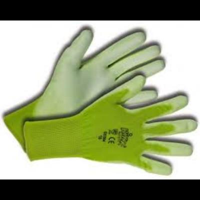 KIXX kertészeti kesztyű zöld, méret 8