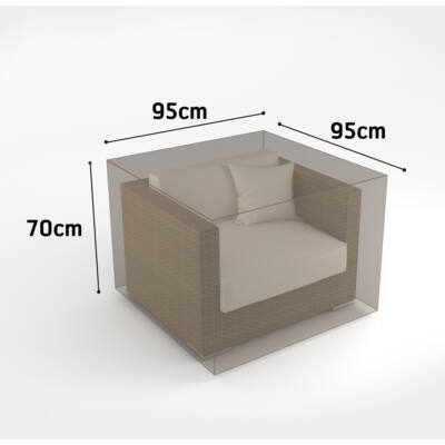 Nortene Covertop vízálló bútortakaró fotel