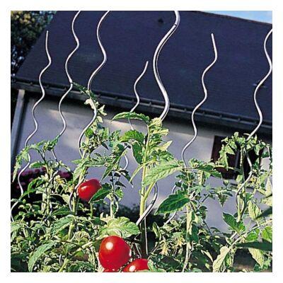 Acél paradicsomkaró spirál, erősített galvanizált 1,5m