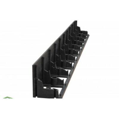 Border PER-P 100 prémium erősített gyep és ágyásszegély hajlítható sorolható 100x10