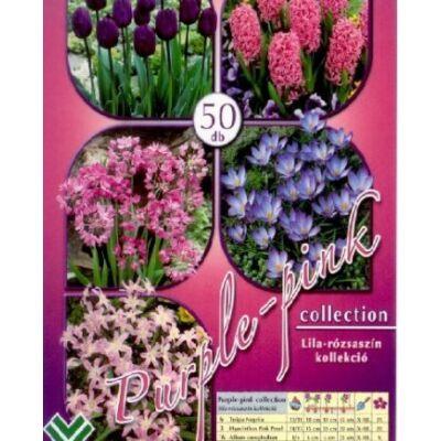 Virághagyma mix 50db-os Purple-pink