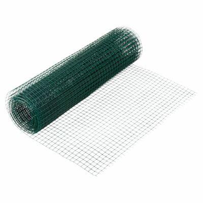 Nortene Fensanet ponthegesztett drótháló műanyagbevonattal 0,5x5m