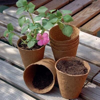 Growing pots  tőzegcserép 8cm18db/csomag
