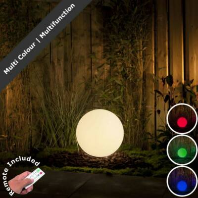 Garden Lights Round40 dekoratív lámpa RGB Led