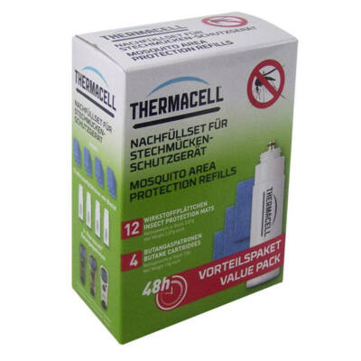 Thermacell utántöltő 48 órás szúnyogriasztó készülékhez
