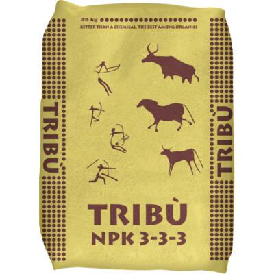 TRIBÚ (3N-3P2O5-3K) lebontó baktériumflóra, szerves trágya 25Kg