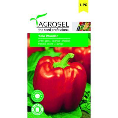 Agrosel California Wonder Paprika 1g
